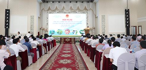 Hội nghị Tổng kết 10 năm thực hiện tiêu chí Thủy lợi trong Chương trình MTQG xây dựng nông thôn mới giai đoạn 2010-2020