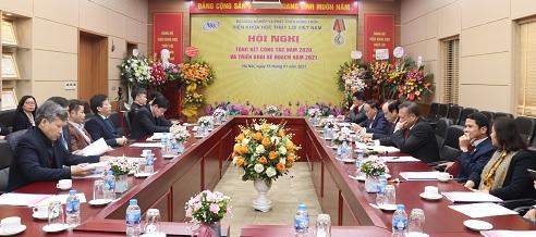 Tổng kết công tác năm 2020 và triển khai kế hoạch năm 2021 Viện Khoa học Thủy lợi Việt Nam