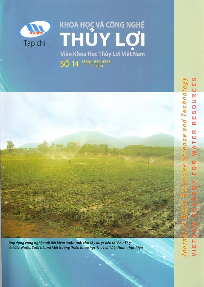 Tạp chí Khoa học và Công nghệ Thủy lợi số 14 năm 2013