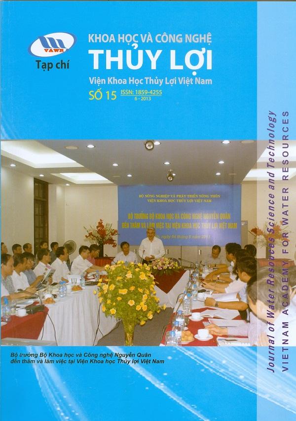 Tạp chí Khoa học và Công nghệ Thủy lợi số 15 năm 2013