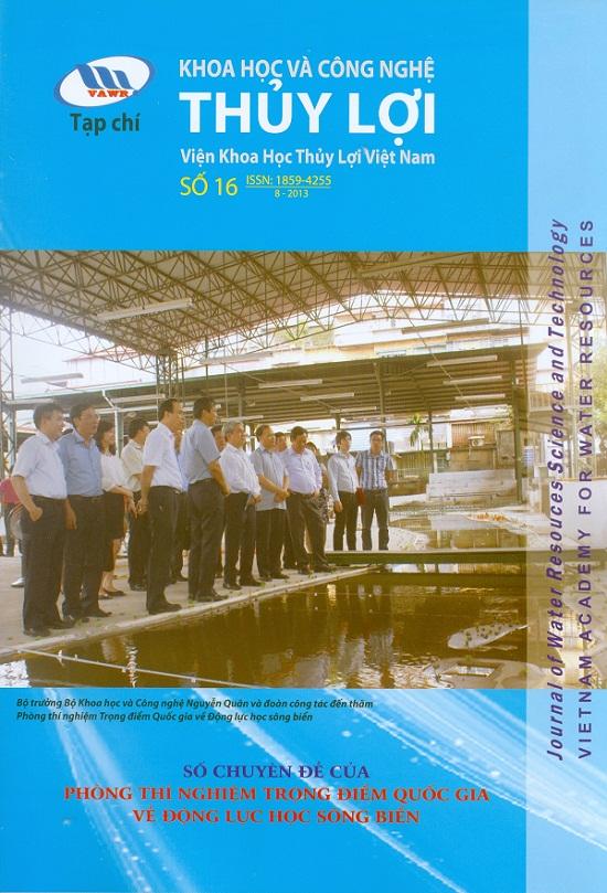 Tạp chí Khoa học và Công nghệ Thủy lợi số 16 năm 2013