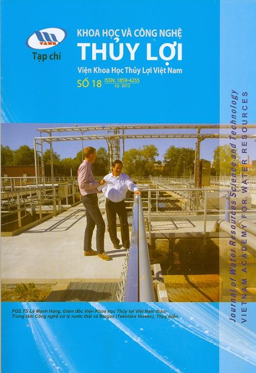 Tạp chí Khoa học và Công nghệ Thủy lợi số 18 năm 2013