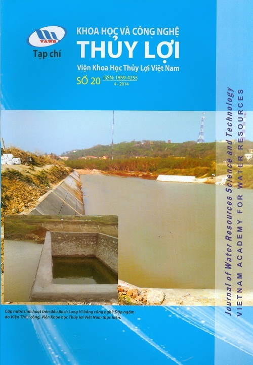 Tạp chí Khoa học và Công nghệ Thủy lợi số 20 năm 2014