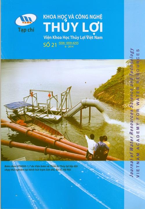 Tạp chí Khoa học và Công nghệ Thủy lợi số 21 năm 2014