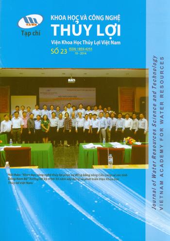 Tạp chí Khoa học và Công nghệ Thủy lợi số 23 năm 2014
