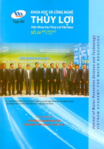 Tạp chí Khoa học và Công nghệ Thủy lợi số 24 năm 2014