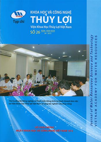 Tạp chí Khoa học và Công nghệ Thủy lợi số 26 năm 2015