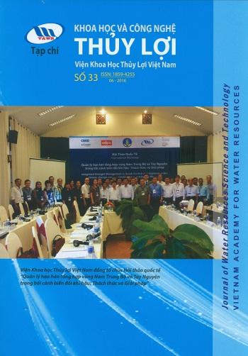 Tạp chí Khoa học và Công nghệ Thủy lợi số 33 năm 2016