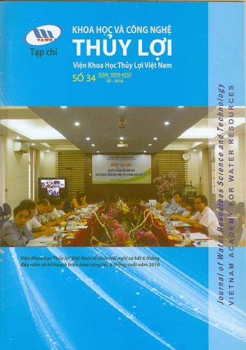 Tạp chí Khoa học và Công nghệ Thủy lợi số 34 năm 2016