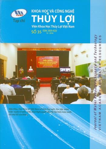 Tạp chí Khoa học và Công nghệ Thủy lợi số 35 năm 2016