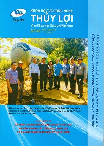 Tạp chí Khoa học và Công nghệ Thủy lợi số 46 năm 2018