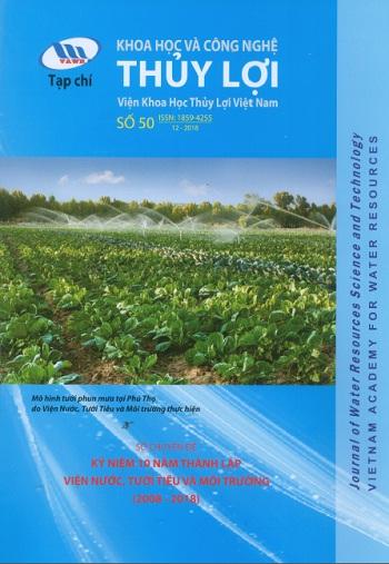 Tạp chí Khoa học và Công nghệ Thủy lợi số 50 năm 2018